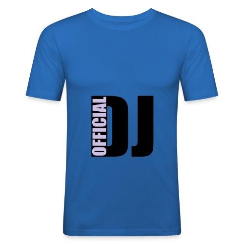Blue Shirt - T-shirt près du corps Homme