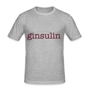 Ginsulin Mens slim fit - Men's Slim Fit T-Shirt