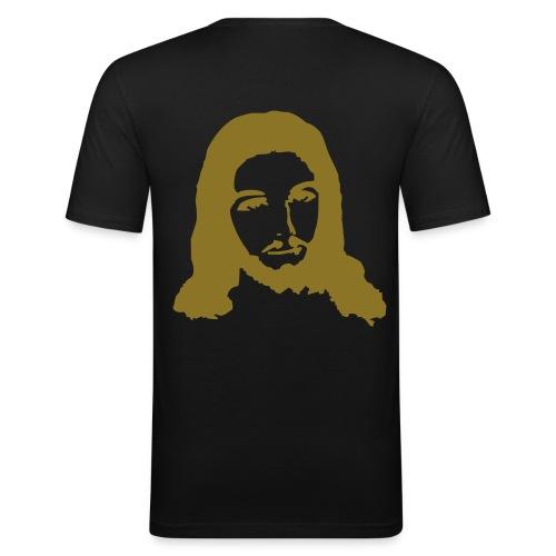 JESUS.. - Slim Fit T-skjorte for menn