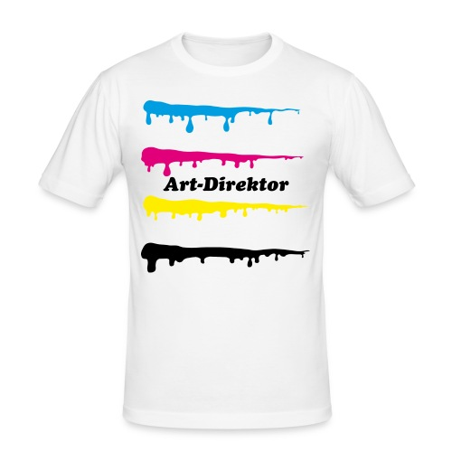 Art-Direktor - Männer Slim Fit T-Shirt