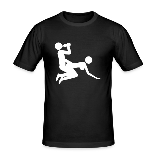 Drinking Sports - Men's Slim Fit T-Shirt