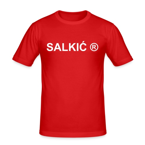 Proud to be Salkic #170 - Men's Slim Fit T-Shirt