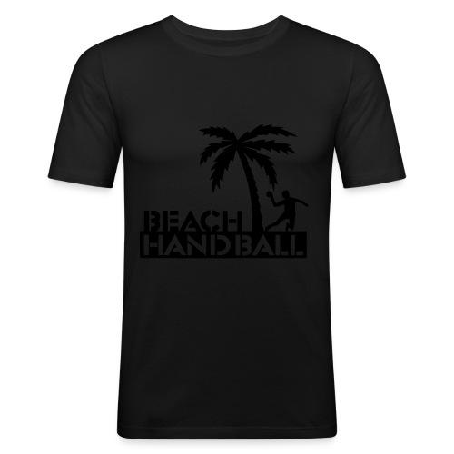 Beachhandball T-Shirt Slim-Fit Männer - Männer Slim Fit T-Shirt