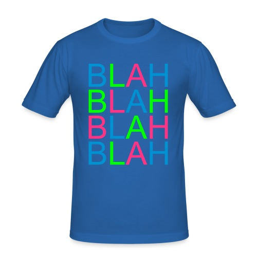 Blah  t-shirt slim fit man - Maglietta aderente da uomo