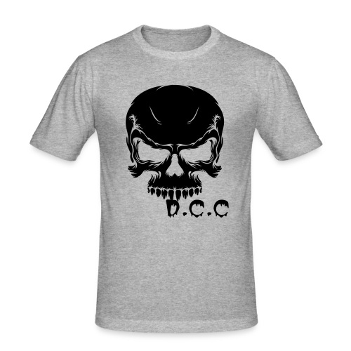 DCC Skull - Men's Slim Fit T-Shirt