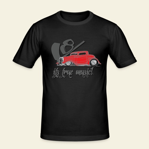 V8 - it's true music - Herre Slim Fit T-Shirt