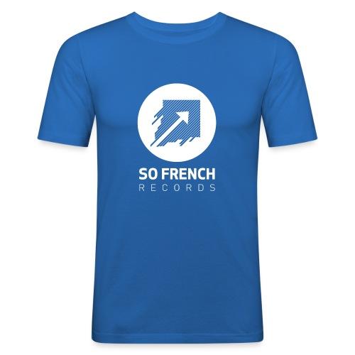 Blue Test Men - T-shirt près du corps Homme