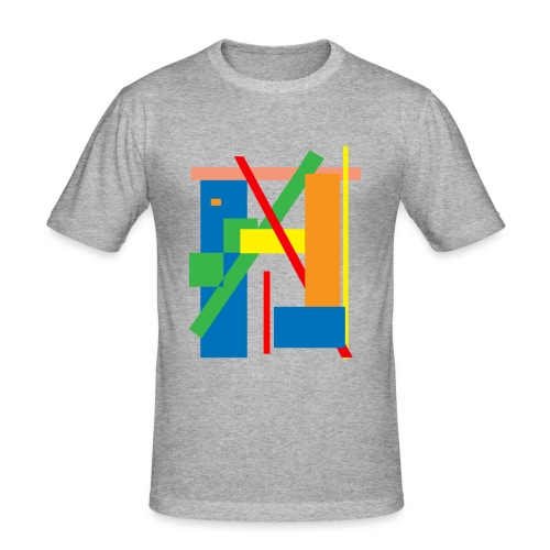 Line Art - Men's Slim Fit T-Shirt