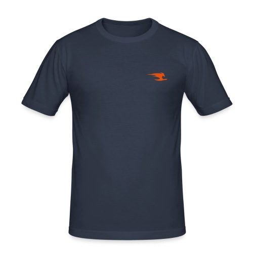 Men's Slim Fit T-Shirt - Men's blue slim shirt. We have slim shirts in all colours and sizes. Great designs and great prices at Urban Free.