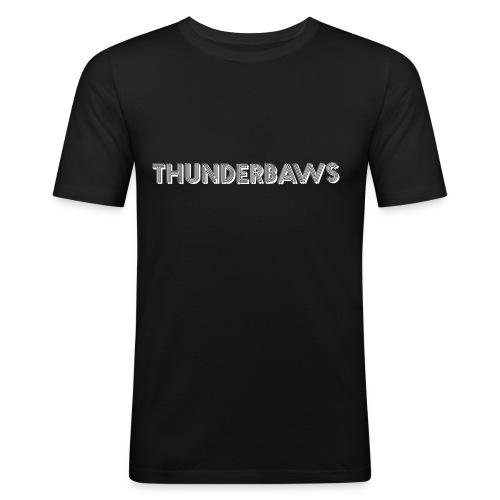 Thunderbaws - Men's Slim Fit T-Shirt
