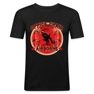 Office Chair Airborne - Men's Slim Fit T-Shirt