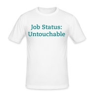 T-Shirts ~ Men's Slim Fit T-Shirt ~ Untouchable