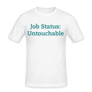 Untouchable - Men's Slim Fit T-Shirt