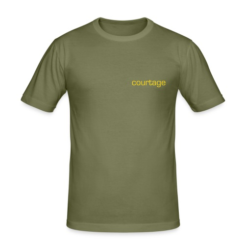 courtage - Men's Slim Fit T-Shirt