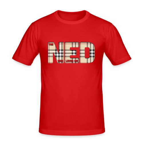 The Ned Who Loved Me - Men's Slim Fit T-Shirt