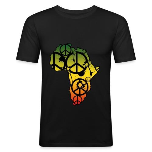 Afrika Unite! - Männer Slim Fit T-Shirt