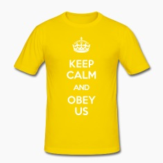 KEEP CALM AND OBEY US T-Shirts