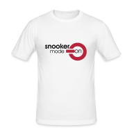 T-Shirts ~ Men's Slim Fit T-Shirt ~ snooker mode on