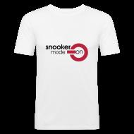 T-Shirts ~ Men's Slim Fit T-Shirt ~ snooker mode on