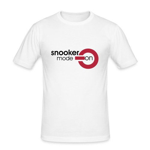 snooker mode on - Männer Slim Fit T-Shirt