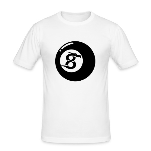 '8-Ball' Slim Fit T-Shirt - Männer Slim Fit T-Shirt