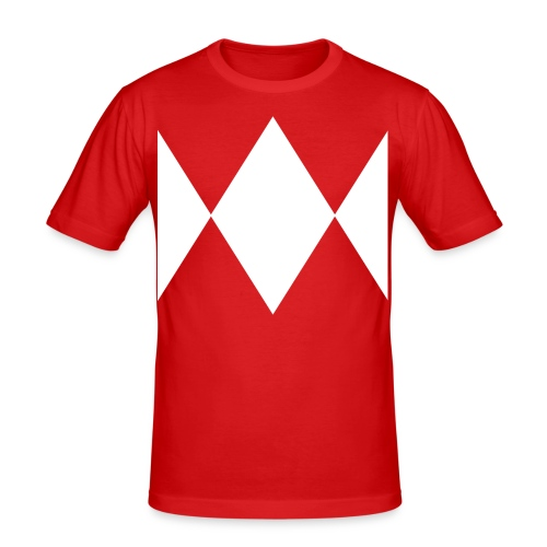 Red Ranger  - Men's Slim Fit T-Shirt