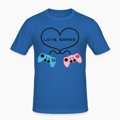 Customisable Game Controllers Heart T-Shirt