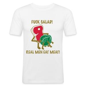 Real men - Slim Fit T-skjorte for menn