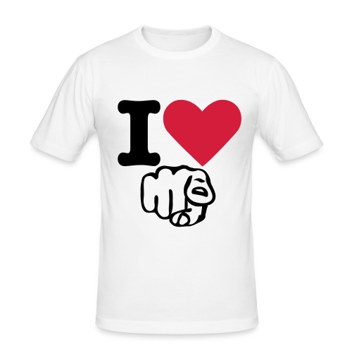 Fontle I Love You (Any Colour) Male - Men's Slim Fit T-Shirt