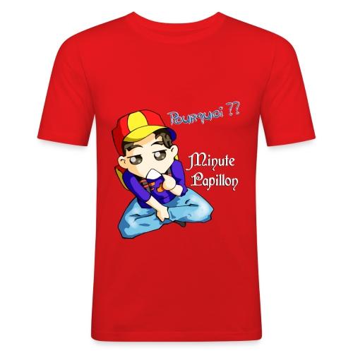 Mini-Kriss - Pourquoi 2 - T-shirt près du corps Homme