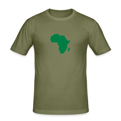 Afrique - Men's Slim Fit T-Shirt