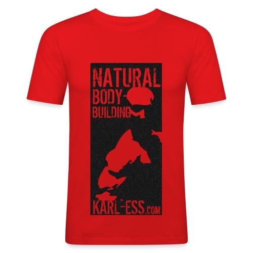 Karl Ess NB 1 - Männer Slim Fit T-Shirt