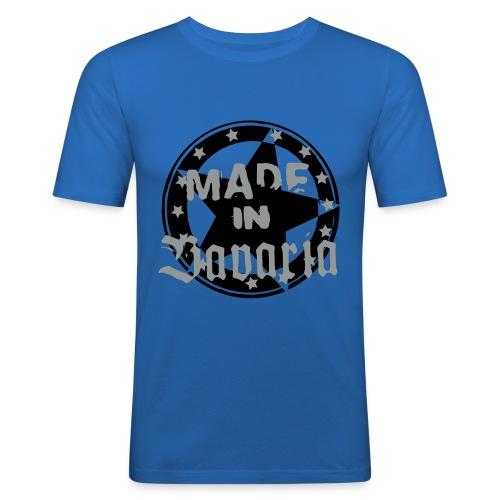 Made in Bavaria Buam - Männer Slim Fit T-Shirt