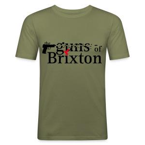 Guns of Brixton - Männer Slim Fit T-Shirt