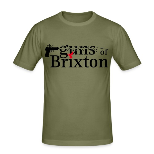 Guns of Brixton - Männer Slim Fit T-Shirt