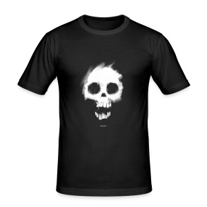 Nosmit Skull Slim T - Men's Slim Fit T-Shirt