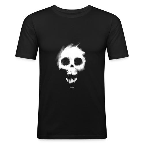 Nosmit Skull Slim T - Men's Slim Fit T-Shirt