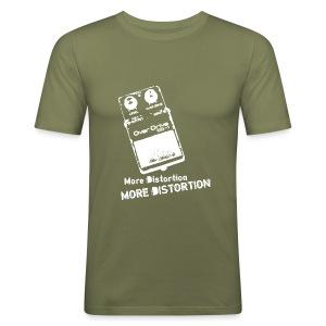 White Noize - Men's Slim Fit T-Shirt