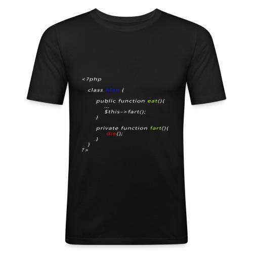 T-shirt php class man - Maglietta aderente da uomo