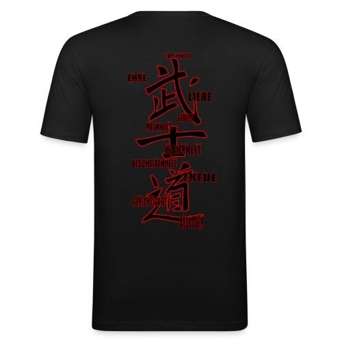 Bushido - Weg des Kriegers - Männer Slim Fit T-Shirt