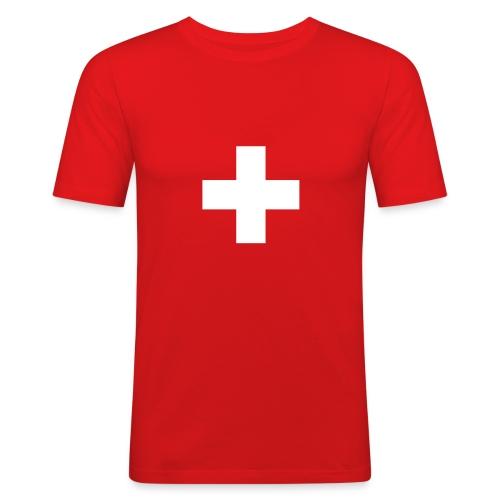 be:cool Swiss - Männer Slim Fit T-Shirt