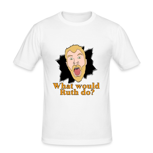 What would Ruth do? Slim Fit Shirt - Men's Slim Fit T-Shirt
