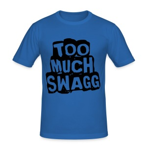 TOO MUCH SWAGG - Tee shirt près du corps Homme