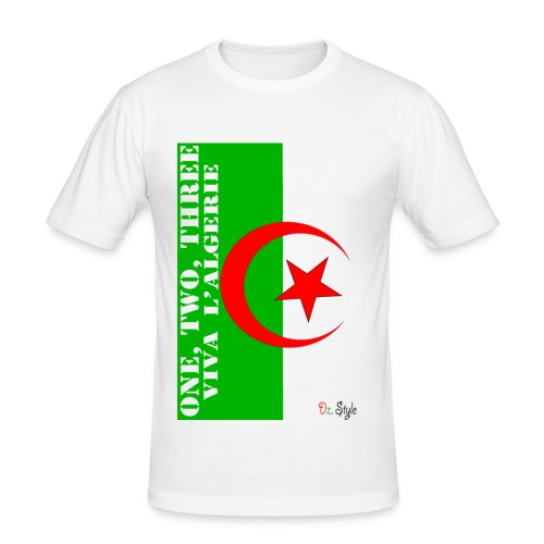 One, Two, Three.. - T-shirt près du corps Homme