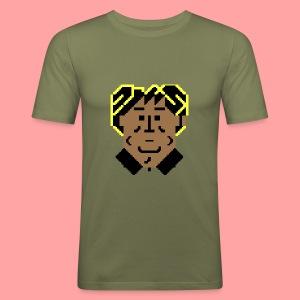 C64 Stroker - Men's Slim Fit T-Shirt