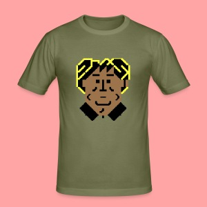 C64 Stroker - Men's Slim Fit T-Shirt