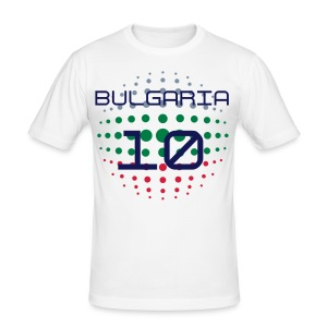 Bulgaria design 1 - Men's Slim Fit T-Shirt