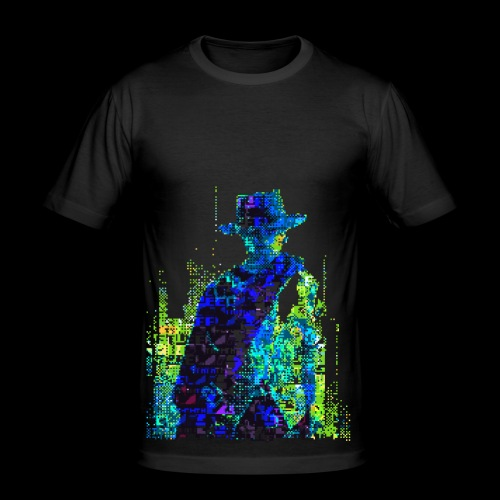 The Glitch With No Name - Men's Slim Fit T-Shirt