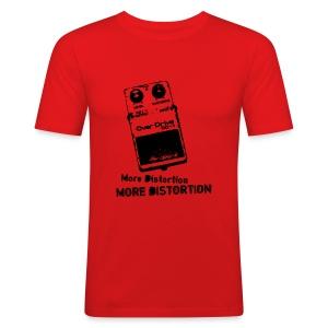 More Distortion  - Men's Slim Fit T-Shirt
