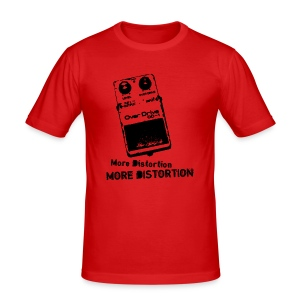 More Distortion  - Men's Slim Fit T-Shirt